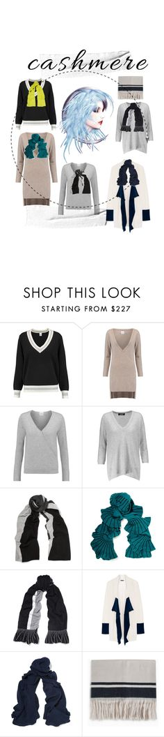 """Cashmere"" by lalu-papa ❤ liked on Polyvore featuring Madeleine Thompson, Magaschoni, Splendid, Isabel Marant and Joseph"
