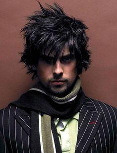 Medium Black Hairstyles For Men ~ http://wowhairstyle.com/beautiful-medium-black-hairstyles/medium-black-hairstyles-for-men/