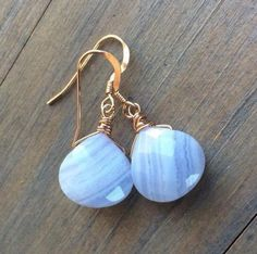 Details about  /Agate Colored Jade And Hematite Round Stone Gold Filled Short Dangle Earrings