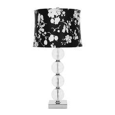 Back to Nature - Amanda Glass Globe Lamp