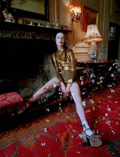 Edie Campbell by Tim Walker for Love Magazine Fall Winter 2014