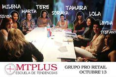 Alumnas del curso PRO RETAIL, Escaparatismo & Visual Merchandising Profesional. Edición Oct/13