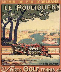 Chemins de Fer d'Orléans : Le Pouliguen