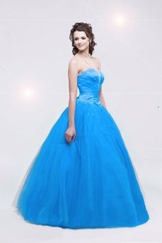 2012 Luxurious Turquoise Blue Quinceanera Dress Ball Gown QD 20110903003