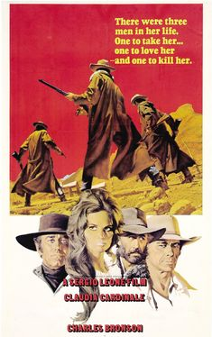 once upon a time in the west movie cover -