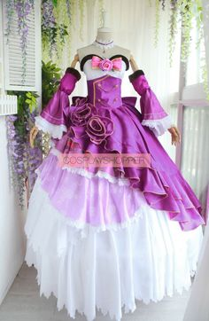 Cosplay Dress, Cosplay Outfits, Pretty Dresses, Beautiful Dresses, Cosplay Costumes For Sale, Expensive Dresses, Anime Dress, Princess Outfits, Fantasy Dress