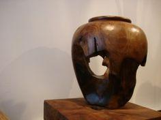 Gentong Teak Vase from Zenporium Home Spa Decor, Rocky River, Teak, The Past, Wellness, Organic, Vase, Magazine, Green