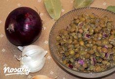 Lencsesaláta SüniSüti konyhájából | Nosalty Tej, Sprouts, Onion, Vegetables, Food, Onions, Essen, Vegetable Recipes, Meals