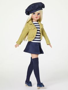 Tonner Dolls- Sindy - the doll you love to dress!  The British fashion doll icon first launched back in 1963 and was wildly popular throughout the '60s, '70s and '80s, selling over 150 million dolls worldwide.  Still a popular collectible today, Sindy is back with a passion for fashion!