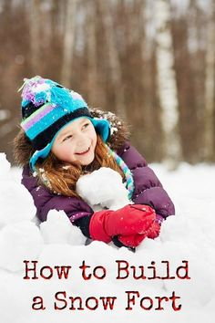 Looking to build an adventure in the snow with your kids? Here is how to build a snow fort and have hours of outdoor playtime fun. Snow Activities, Winter Activities For Kids, Fun Games For Kids, Kids Learning Activities, Diy For Kids, Cool Kids, Crafts For Kids, Outdoor Activities, Winter Fun