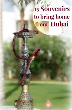 Dubai shopping guide shows you what authentic local products to buy as souvenirs or gifts to bring home.