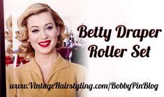 Betty Draper Vintage Hairstyle