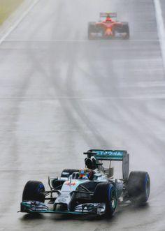 On Track w/Lewis Hamilton at the 2014 Hungarian Grand Prix Mercedes Petronas, Amg Petronas, Red Bull Racing, F1 Racing, Formula 1 Gp, Mercedes Wallpaper, Hungarian Grand Prix, Motorsport Events, Watch F1