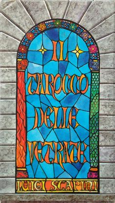 Stained-Glass Windows Tarot by Dal Negro. by TarotBG on Etsy