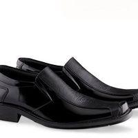 # Sepatu kerja pantofel formal pria UKURAN BESAR big size KULIT ASLI