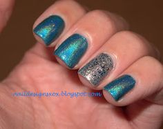 Glitter man out by Nail Designs