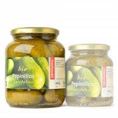 Pepinillos bio agridulces - Loveat!© - #We_Loveat - Ingredientes: pepinillos, agua, vinagre, miel, semillas de mostaza amarilla y sal marina.Productos producidos con fuente de energía solar, eólica e hidráulica. #We_Loveat