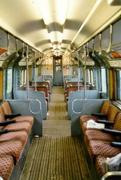 Interior of 59-stock carriage