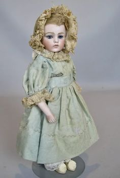"5"" Kid Leather Replacement Arms for Antique Dolls French Fashion China Doll"