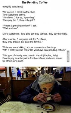 The pending coffee :')