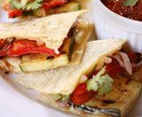 Veggie Quesadillas that my kids love - they are super easy to make and customize to anyones tastes!