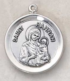 Saint Hannah (Patron of Childless Wives). Also known as: Channa (Hebrew)One of the few women of the Old Testament to be considered a Prophetess. Through devoted prayer to God, she was able to concieve six children. Prior to this, she was unable to concieve no matter how hard she tried.  #infertility #fertility #miracles