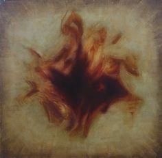 """Lidia Zdzieszyńska """"Mikroświat"""", olej na płótnie /""""Microworld"""", oil on canvas/, 120x120cm"""