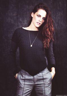 """Kristen Stewart in a photo shoot for """"AERA"""" Japan magazine dec 2012......."""