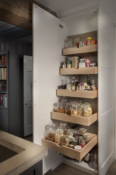 cuisine armoires and armoire de rangement de cuisine on pinterest. Black Bedroom Furniture Sets. Home Design Ideas