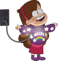 Mabel (Gravity Falls) by Strumfreak Dipper Pines, Mable Pines, Fall Wallpaper Tumblr, Mabel Sweater, Funny Love Jokes, Grabity Falls, Desenhos Gravity Falls, Reverse Falls, Cartoon Jokes