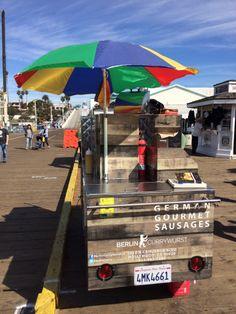 Berliner Currywurst at the Santa Monica Pier.