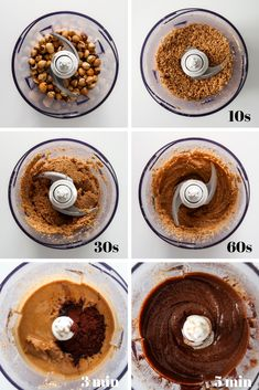 This vegan healthy nutella is super easy to make and tastes so chocolate-y! Delicious Vegan Recipes, Gourmet Recipes, Dessert Recipes, Healthy Nutella Recipes, Lunch Recipes, Vegan Snacks, Vegan Desserts, Vegan Food, Food Food