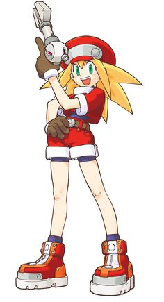 View an image titled 'Roll Caskett Art' in our Mega Man Legends art gallery featuring official character designs, concept art, and promo pictures. Manga Anime, Cry Anime, Anime Art, Robots Characters, Video Game Characters, Capcom Street Fighter, Megaman Series, Pokemon, Video Games Girls