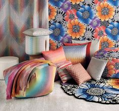 The Anemones pattern for 2016 from Missoni Home.
