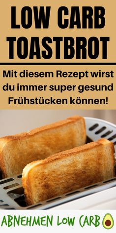 Low Carb Toastbrot This recipe for breakfast brings you a lot! With this you not only lose weight much better than with conventional ones, but you also get a lot fitter. Healthy Eating Tips, Healthy Nutrition, Keto Snacks, Healthy Snacks, Law Carb, Aperitivos Keto, Cena Keto, Evening Meals, Keto Dinner