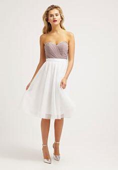 Laona - Cocktailkleid / festliches Kleid - dune/cream white