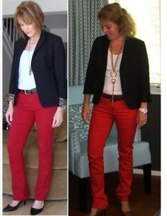 idea for red pants