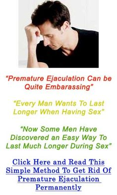 How To Last Longer In Bed Without Pills – 7 Natural Remedies To Prevent Premature Ejaculation