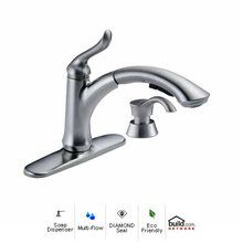 Delta linden single handle pullout kitchen faucet review