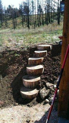 Tree Stump Ideas 33