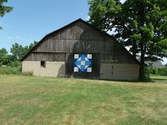 In My World . . .: Canada Day Road Trip on the Barn Quilt Trail ~ Cross in a Cross Delmer
