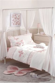 Buy Princess Four Poster Bed from the Next UK online shop