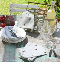 Today, treat yourself with something you'll savor all summer long. Summer Garden, Home And Garden, Home Collections, Outdoor Tables, Provence, French, Table Decorations, Dining, House