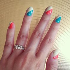 Disco nails for disco bling.