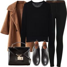 Untitled #4165 by laurenmboot on Polyvore featuring rag & bone, Topshop, MANGO, Rebecca Minkoff and Abercrombie & Fitch