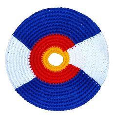 Pocket Disk Colorado Flag Sport