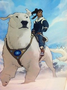 Avatar the Last Airbender was my favorite show, SO excited about the sequel The Legend of Korra!! The first few episodes are amazing and I can't wait to learn more about what's happened in the 70 years since we saw Aang :D
