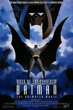 "BATMAN - MASK OF THE PHANTASM Original Movie Poster 27"" x 40"" One Sheet Rolled 