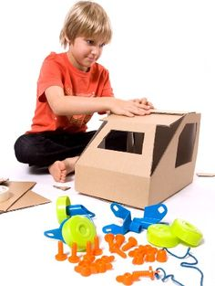 Rolobox is a reusable set of wheels and brackets that can be fitted to any cardboard box with the chunky nuts and bolts provided. Simply add the wheels to any . Little People, Little Ones, How To Make Box, Christmas Presents, Office Decor, Toy Chest, Cool Things To Buy, Wheels, Toys