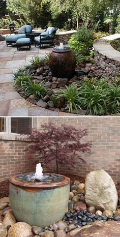 Nice 25 Landscaping Ideas for Front Yards https://ideacoration.co/2018/02/24/25-landscaping-ideas-front-yards/ In such a scenario, a container garden is your best choice. If there's an outdoor garden, extending behind or in front of your house, you might constantly consider improving it further #landscapingideasforfrontyard